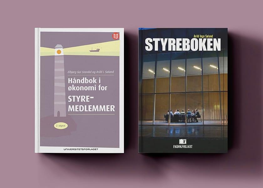 bøker kombinert web